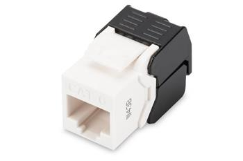 Digitus CAT 6 Keystone Jack, unshielded RJ45 to LSA, tool free connection, incl. cable tie