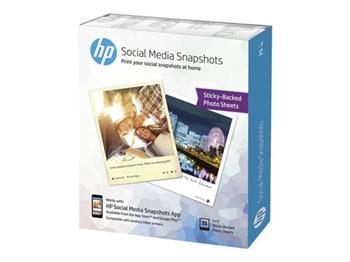 HP GP W2G60A Social Media Snapshots - 25 listů 10x13 cm