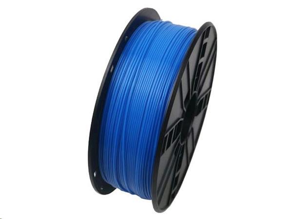GEMBIRD Tisková struna (filament), ABS, 1,75mm, 1kg, fluorescentní, modrá