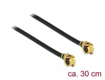 Delock Anténní kabel MHF / U.FL-LP-068 kompatibilní samec > MHF / U.FL-LP-068 kompatibilní samec 30 cm 1,13