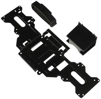 Behind the Monitor Mount for P-Series 2017 Monitors, Customer Kit