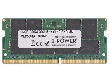 2-Power 16GB PC4-21300S 2666MHz DDR4 CL19 Non-ECC SoDIMM 2Rx8 (DOŽIVOTNÍ ZÁRUKA)