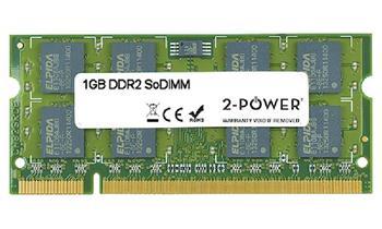 2-Power 1GB PC2-5300S 667MHz DDR2 CL5 SoDIMM 1Rx8 (DOŽIVOTNÍ ZÁRUKA)