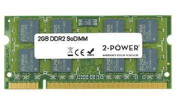 2-Power 2GB PC2-6400S 800MHz DDR2 CL6 SoDIMM 2Rx8 (DOŽIVOTNÍ ZÁRUKA)