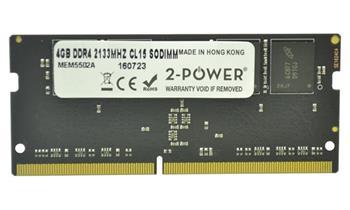 2-Power 4GB PC4-17000S 2133MHz DDR4 CL15 Non-ECC SoDIMM 1Rx8 ( 1,2V DOŽIVOTNÍ ZÁRUKA)