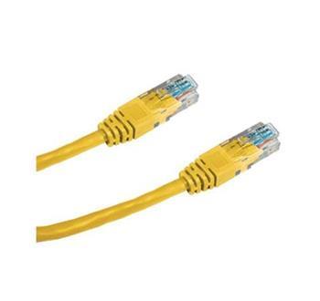 DATACOM Patch cord UTP CAT6 0,5m žlutý