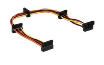 Kabel CABLEXPERT SATA prodloužení napájení, 4x SATA