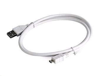 Kabel CABLEXPERT USB A Male/Micro B Male 2.0, 0,5m, White, High Quality