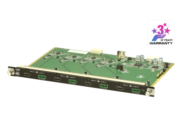 ATEN VM7814-AT 4-Port 4K HDMI Input Board with Scaler