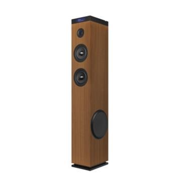 ENERGY Tower 8 G2 Wood, audio systém 2.1, 120W, Bluetooth, USB, microSD, 3.5mm vstup, FM rádio, dotykový panel