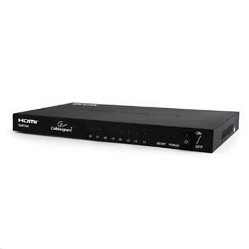 Dat přepínač GEMBIRD HDMI splitter, rozbočovač 8 cest