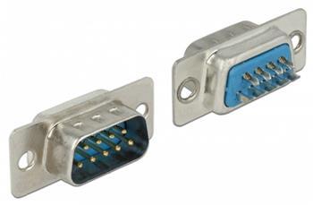 Delock Konektor Sub-D 9 pin samec