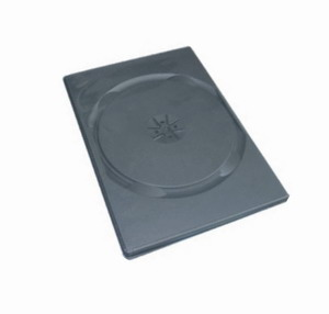 COVER IT Krabička na 1 DVD 9mm slim černý 10ks/bal