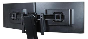 ERGOTRON KIT, SINGLE MONITOR TO DUAL MONITOR WITH HANDLE, BLACK, kit pro rozšíření na 2 mon + držadlo
