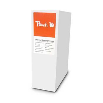 PEACH termální vazací obaly, A4, 4 mm (pro 40 listu), 200 g/m2, 20ks, bílé