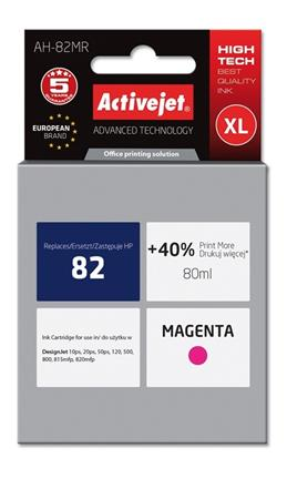 ACJ Ink cartridge HP 4912 Magenta ref. no82 - 80 ml
