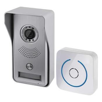 Emos dveřní kamera H1139, barevná IP, 1 tlačítko, WiFi