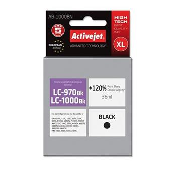 ActiveJet ink Brother LC1000Bk new AB-1000BN 35 ml