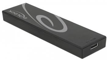 Delock Externí pouzdro M.2 SSD 42/60/80 mm > SuperSpeed USB 10 Gbps (USB 3.1 Gen 2) USB Type-C™ samice