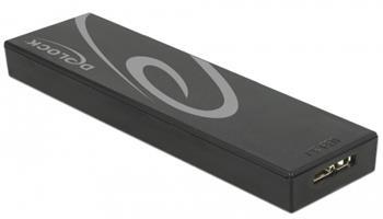 Delock Externí pouzdro M.2 SSD 42/60/80 mm > SuperSpeed USB 10 Gbps (USB 3.1 Gen 2) Typ Micro-B samice