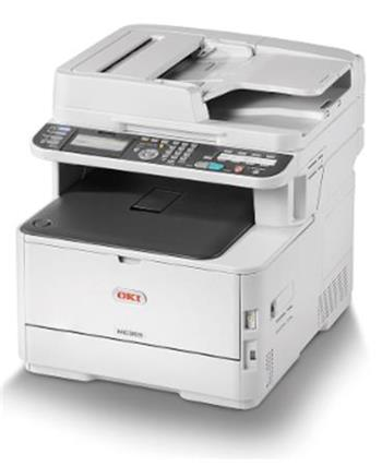 !! AKCE !! OKI MC363dnw A4 30/26 ppm ProQ2400dpi, PCL/PS, RADF, 1GB RAM, USB 2.0 LAN, WIFI (Print/Scan/Copy/Fax)