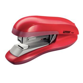 Stolní sešívačka Rapid F30 s ploch. sešíváním, 30 listů, červená