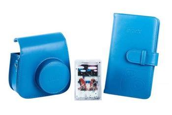 Fujifilm INSTAX MINI9 Accessory Bundle Cob Blue