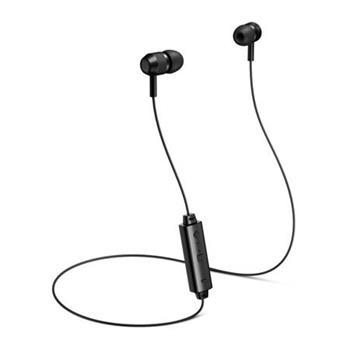 CONNECT IT Wireless U-BASS Bluetooth sluchátka do uší s mikrofonem, černá