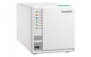 QNAP TS-328 Turbo NAS server, 1,4 GHz QC/2GB/3xHDD/SSD/2xGL/USB 3.0/R5/