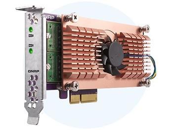 QNAP QM2-2S - Duální rozšiřující karta pro disky SSD M.2 22110/2280