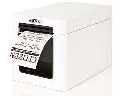 Tiskárna Citizen CT-S251 Printer. Bluetooth (iOS+And), Pure White case