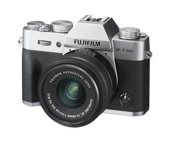 Fujifilm X-T20 + XC15-45 - Silver