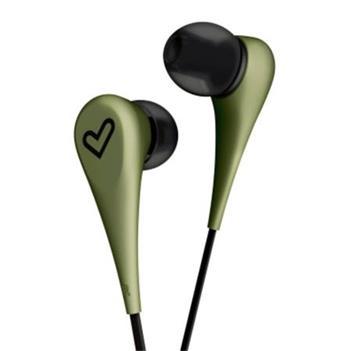 ENERGY Earphones Style 1 Green, in-ear sluchátka, 90±3dB, 3.5 mm mini jack
