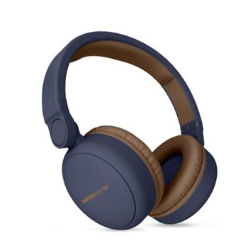 ENERGY Headphones 2 Bluetooth Blue, komfortní circumaurální Bluetooth sluchátka, 93 ±3 dB