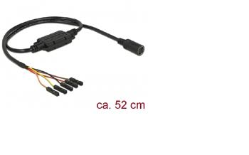 Navilock Connection Cable MD6 female serial > 5 pin pin header, pitch 2.54 mm LVTTL (3.3 V) 52 cm