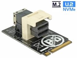 Delock Adaptér M.2 Key M > SFF-8643 NVMe horizontální 2242