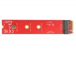 Delock Adaptér M.2 key M samec > M.2 key M slot port saver