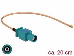Delock Anténí kabel FAKRA Z samice > MHF samec RG-178 20 cm