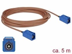 Delock Anténní kabel FAKRA C samice > FAKRA C samice RG-316 5 m
