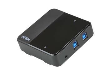 ATEN 2 x 4 USB 3.1 Gen1 Peripheral Sharing Switch
