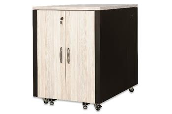 Digitus SOUNDproof Cabinet 1000x750x1130 mm, wooden surface maple metal parts black RAL 9005