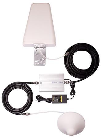 TESLA GSM + LTE zesilovač/opakovač 900/800 MHz GSM-01 LTE- kompletní sada