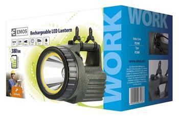 Emos LED svítilna nabíjecí 3810, 10W LED+COB
