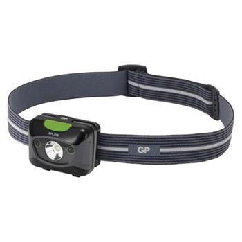 GP LED svítilna čelovka PHR15, 5W CREE LED, 3x AAA, USB