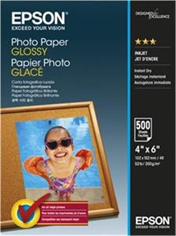 EPSON paper 10x15 - 200g/m2 - 500 sheets - photo paper glossy