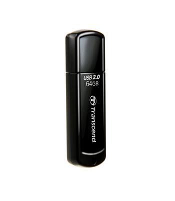 Transcend 64GB JetFlash 350, USB 2.0 flash disk, černý