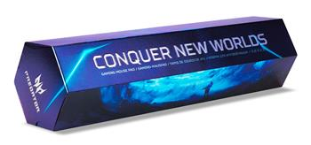 ACER NITRO podložka pod myš - Fabric, M rozměr, 350 x 260 x 2 mm (Retail balení)