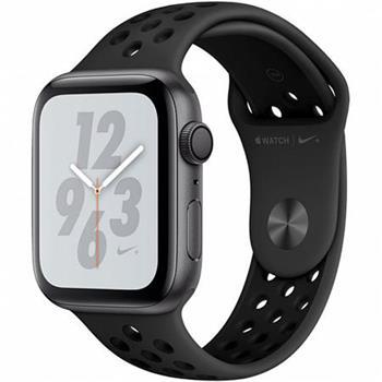 Apple Watch Nike+ 44mm vesmírně šedý hliník s antracitovým/černým sportovním řemínkem Nike (2018)