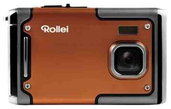"""Rollei Sportsline 85/8 Mpix / 2,4"""" LCD / Voděodolný do 3m/ Odolný proti pádu do 1m/ FULL HD video/Oranžový"""