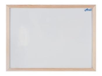 Magnetická tabule AVELI 90x120, dřevěný rám
